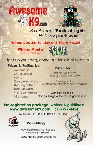 Click to Register for Pack Walk
